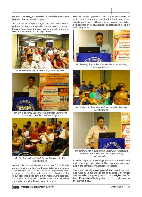 MMR Oct 15 page 39 Dr Deepak Goyal