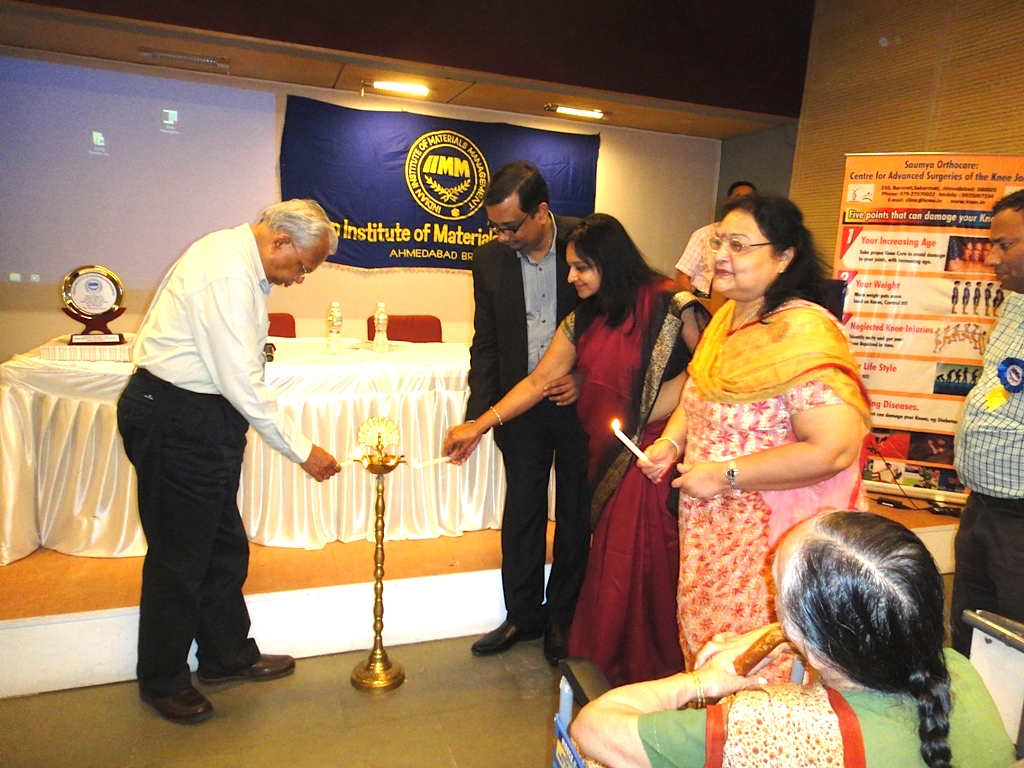 The Lamp Lightening Ceremony at IIMM